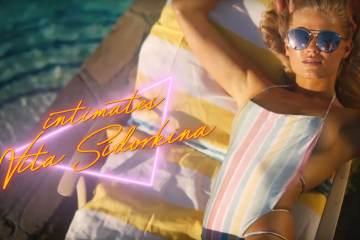 Ultra Hot Vita Sidorkina Goes Bare, Soaks Up The Sun In Nevis Shoot 1