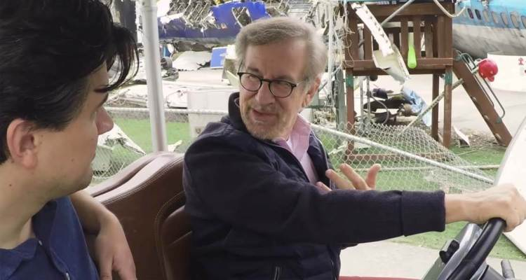 Steven Spielberg Gives A Tour of Universal Studios 1