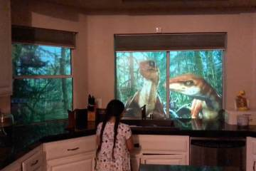 Dad Converts House Into Jurassic Wonderland 1