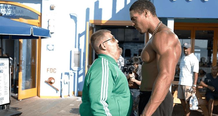 Fat Man VS Bodybuilders 1