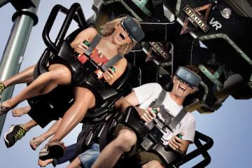 Ride a real Roller Coaster in VR 1