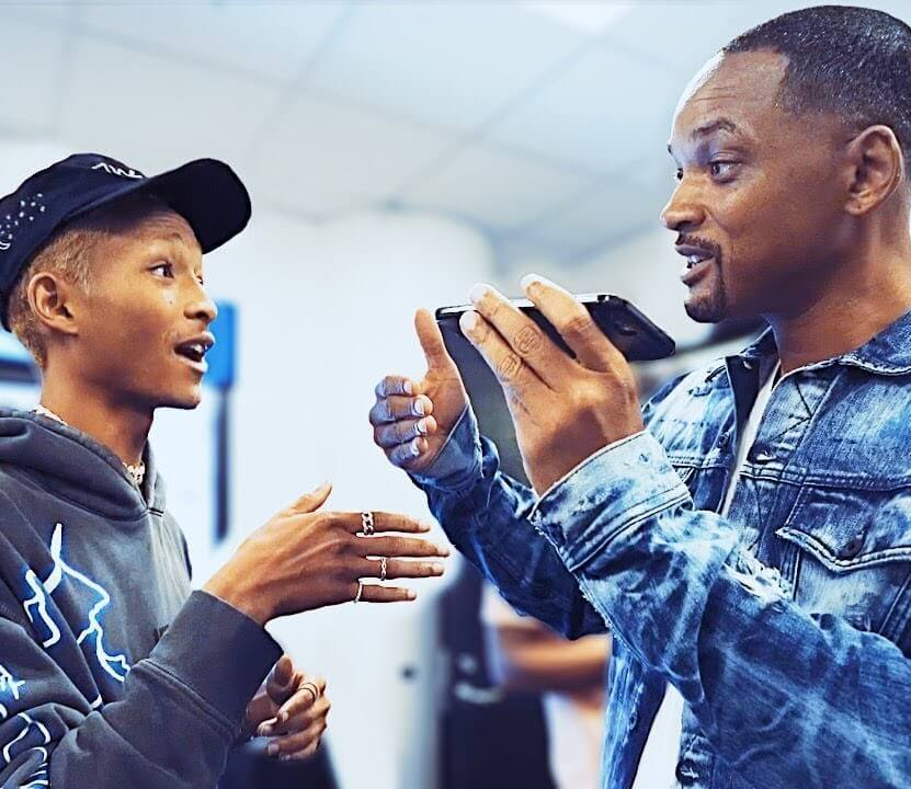 Will Smith And His Son Jaden Performing for the First Time 1