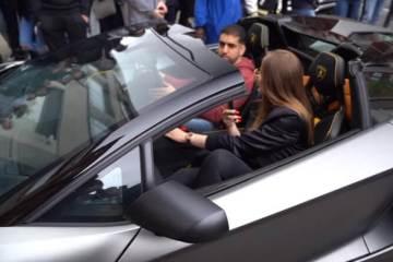 Meet the girl who owns a Diamond covered Lamborghini 1