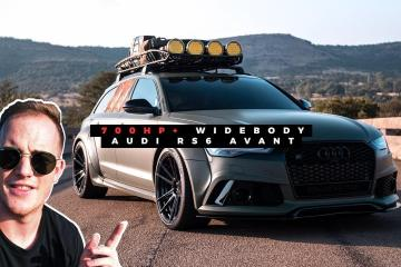 Audi RS6 Avant Widebody Review 1
