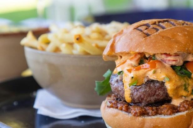 Brix Napa Valley - Meat Burger