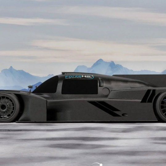 The fastest hydrogen racing car ever comes from the Netherlands and is called Forze IX 3