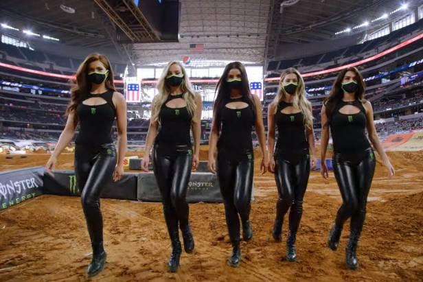 Arlington 3 Supercross - Monster Energy Girls