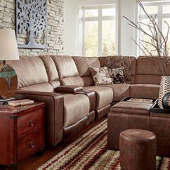 Best Sectional Sofas For The Money Sofa Bed Covers Canada Shop Living Room Badcock More Light Brown With Matching Ottoman
