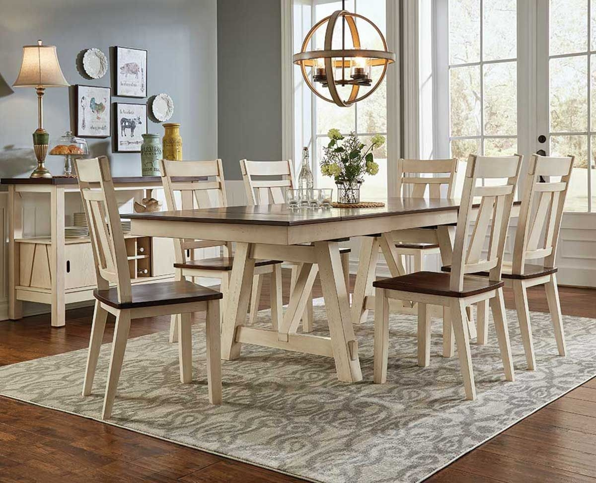 LAUREL MANOR 5 PC DINING SET Badcock Ampmore
