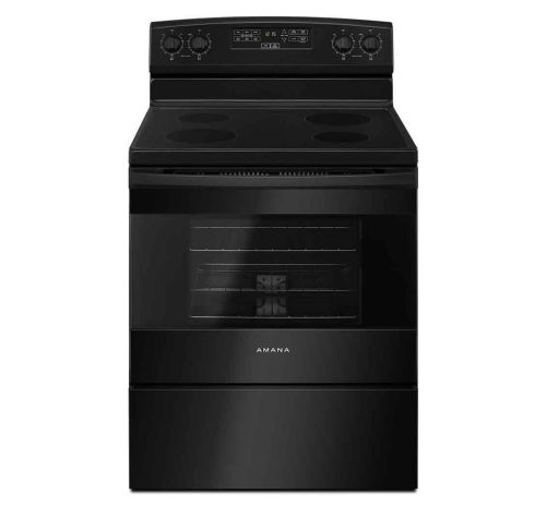 small resolution of picture of amana electric range