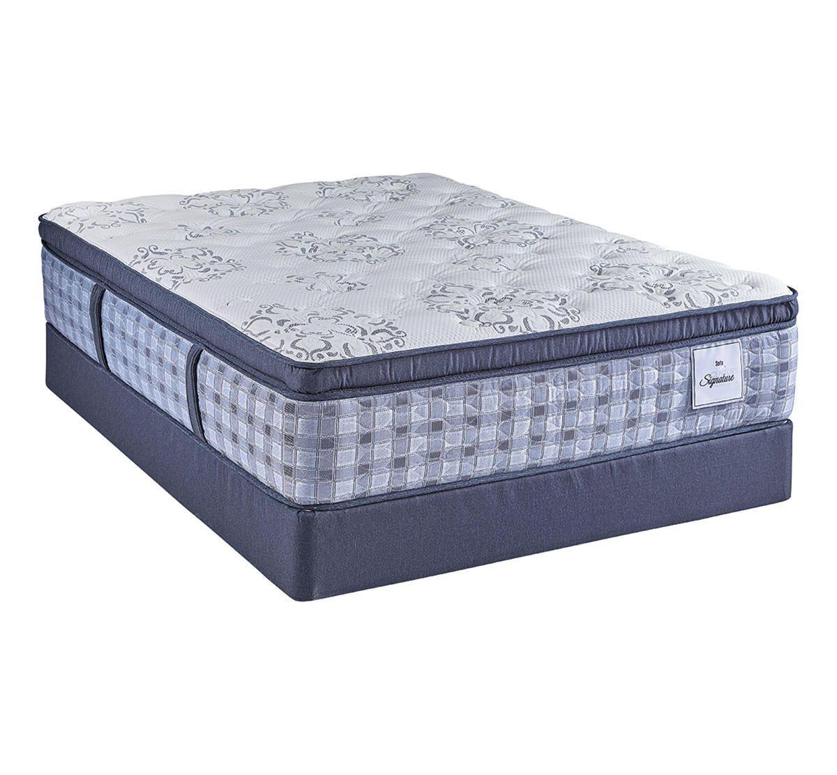 serta kantebury euro pillow top queen mattress set