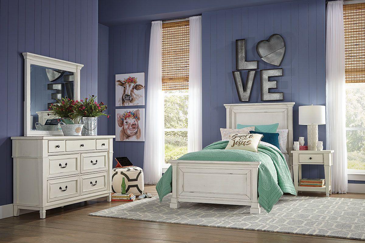 hannah 5 piece twin bedroom set