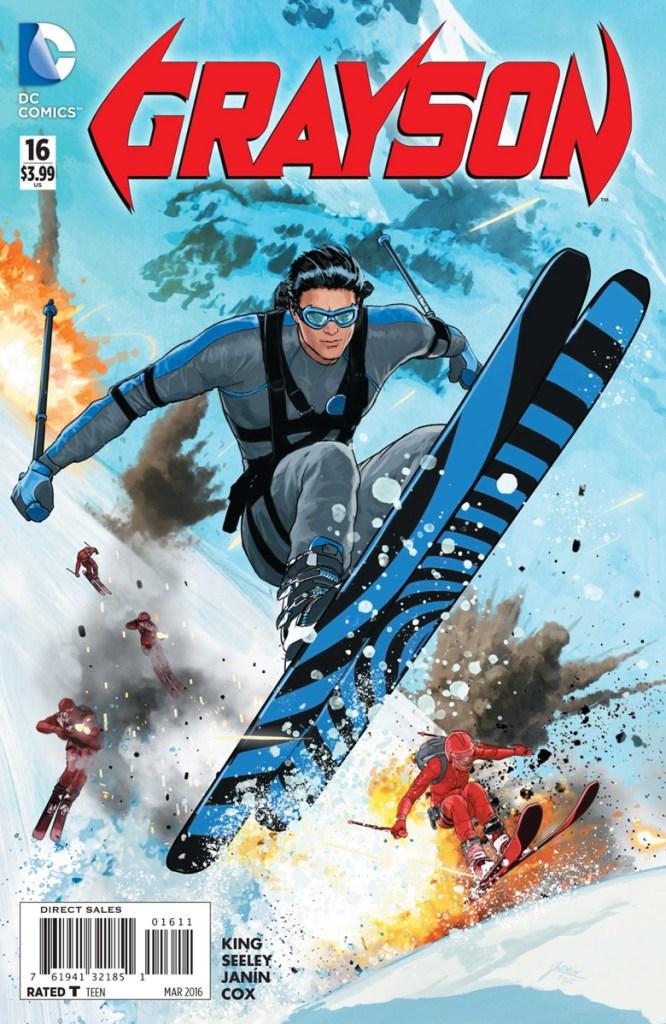 Grayson #16, copertina di Mikel Janin