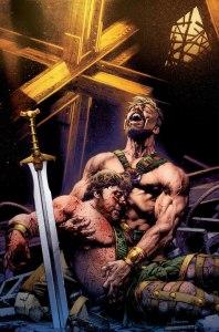 Hercules #4, copertina di Jay Anacleto