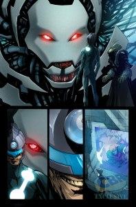New Avengers #5, anteprima 01