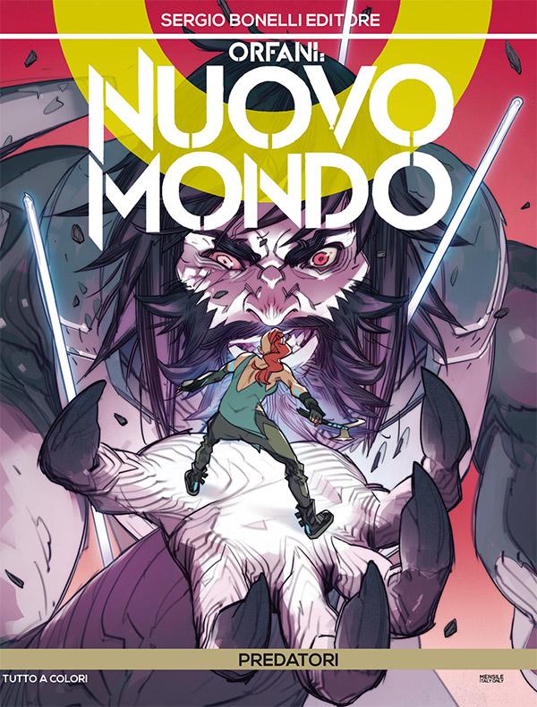 Orfani - Nuovo Mondo 5: Predatori, copertina di Matteo De Longis