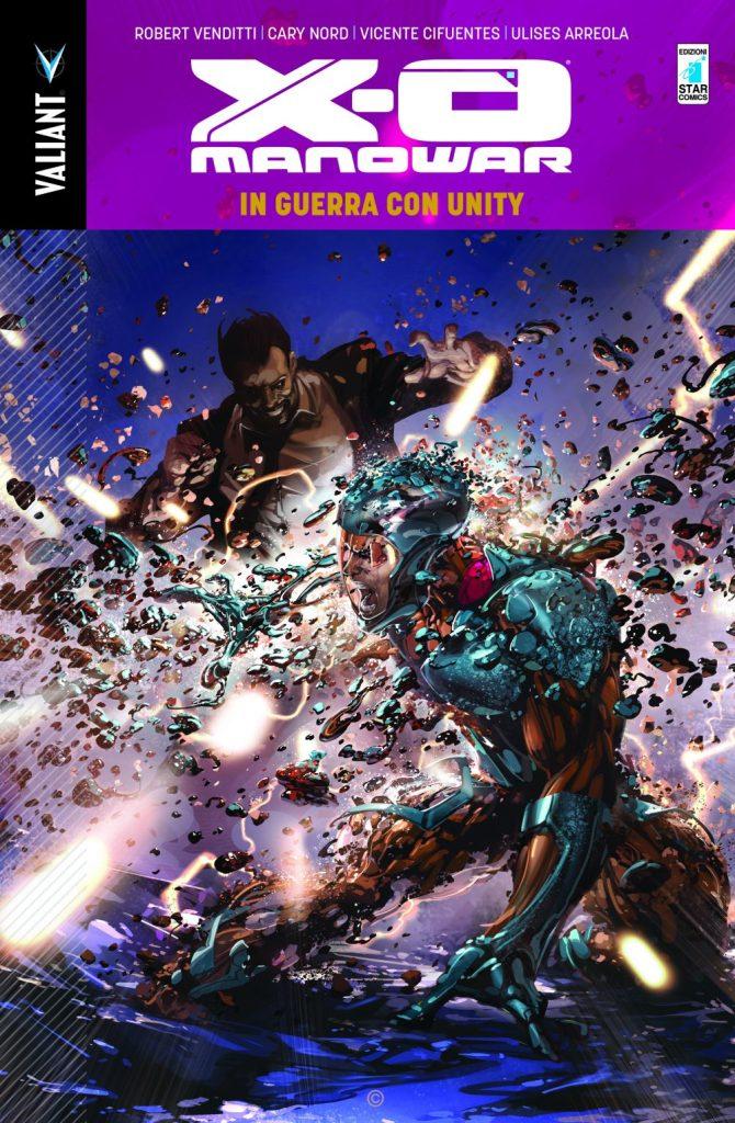 X-O Manowar vol. 5: In guerra con Unity, copertina
