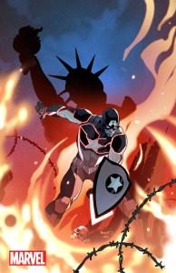 Captain America: Steve Rogers #1, variant cover di Paul Renaud