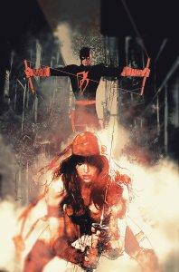 Daredevil #6, copertina di Bill Sienkiewicz