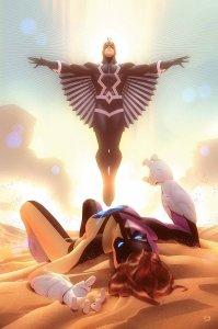 Squadron Supreme #7, copertina di Alex Garner