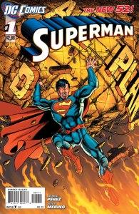 Superman #1, copertina di George Perez