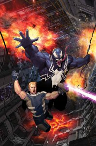 Venom: Space Knight #6, copertina di Ariel Olivetti