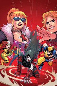 X-Men '92 #2, copertina di David Nakayama