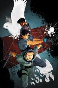 Grayson #18, copertina di Mikel Janin