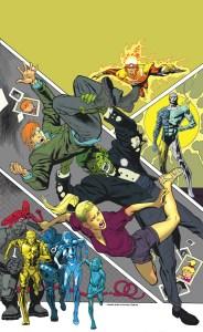 Legends of Tomorrow #3, copertina