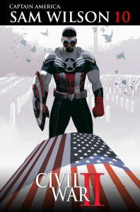 Captain America Sam Wilson #10, copertina di Daniel Acuna