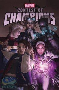 Contest of Champions #8, copertina di Rahzzah