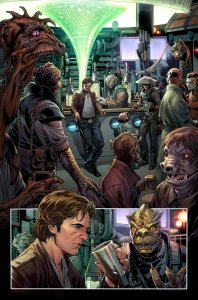 Han Solo #1, anteprima 01