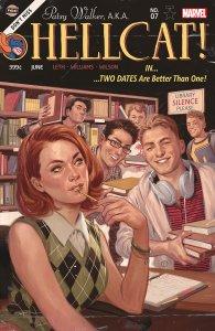 Patsy Walker, A.K.A. Hellcat #7, variant cover di Julian Totino Tedesco