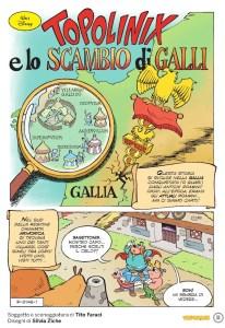 Topolinix e lo scambio di Galli, anteprima 01