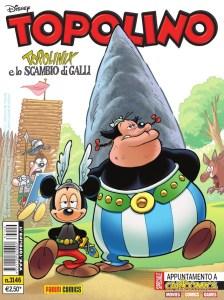 Topolino 3146, copertina di Silvia Ziche