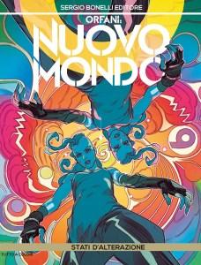 Orfani - Nuovo Mondo 8: Stati d'alterazione, copertina di Matteo De Longis