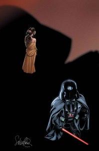 Darth Vader #24, copertina di Salvador Larroca
