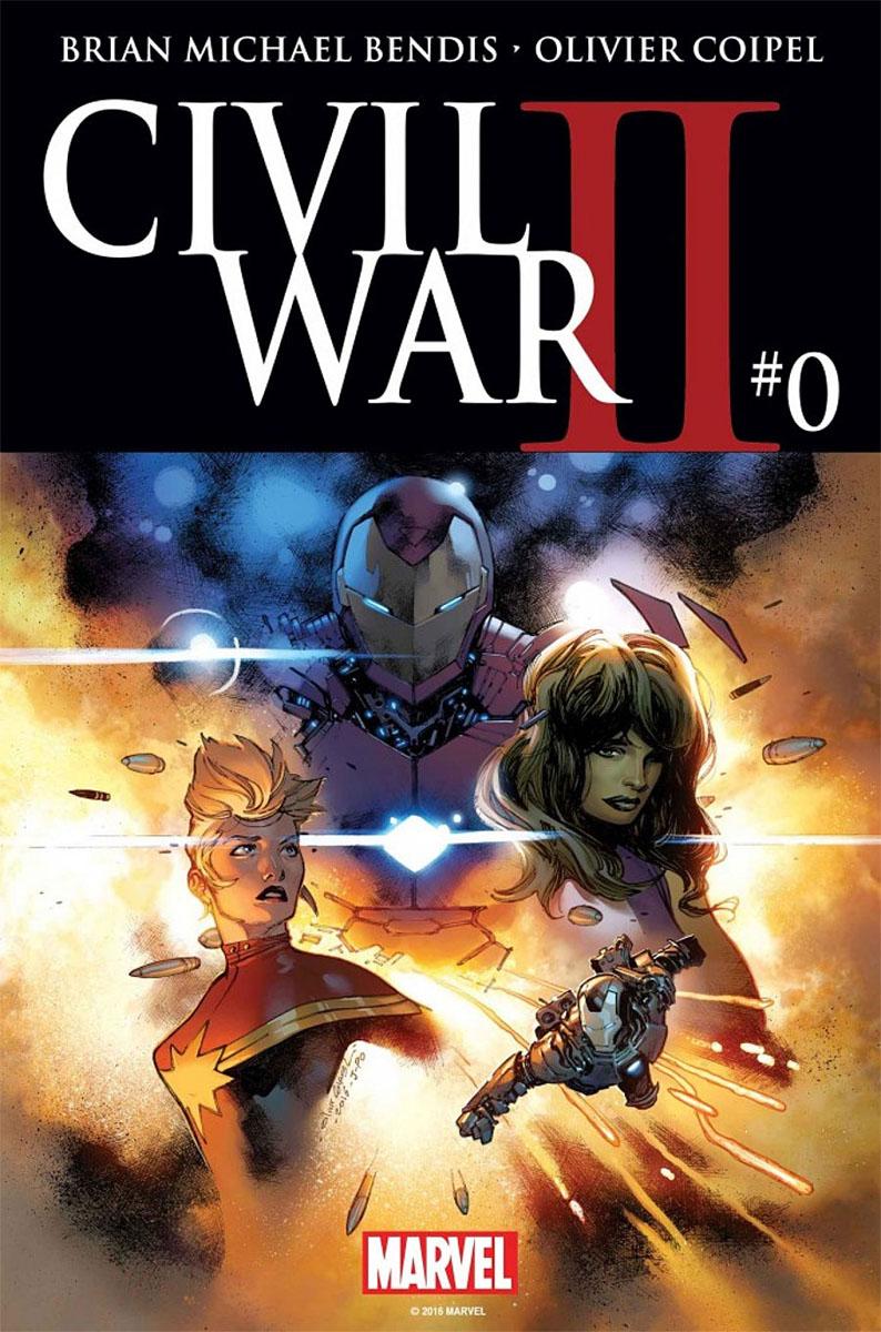 02. Civil War II #0, di Brian M. Bendis e Olivier Coipel, copertina di Olivier Coipel - Marvel