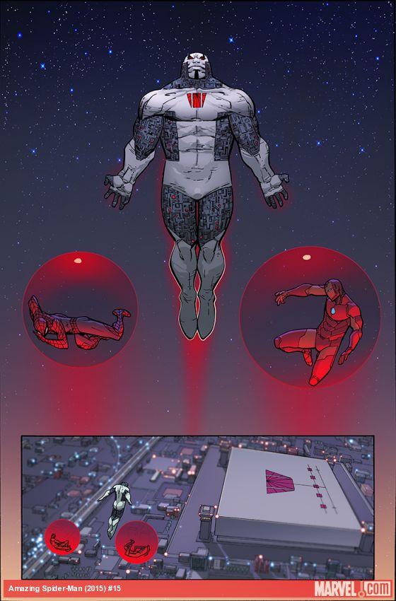 Amazing Spider-Man #15, anteprima 01