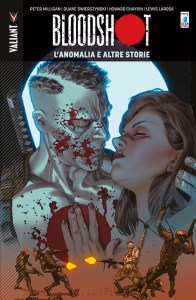 Bloodshot vol. 6: L'Anomalia e altre storie, copertina di Lewis LaRosa