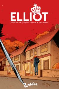 Elliot, copertina di Ludovica Ceregatti e Adele Matera
