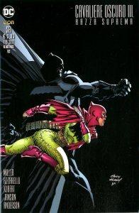 Cavaliere Oscuro III - Razza Suprema 6, copertina di Andy Kubert
