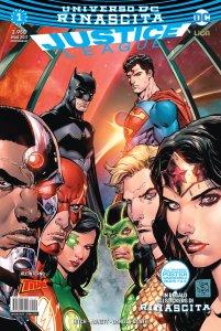 Justice League 1, copertina di Tony S. Daniel