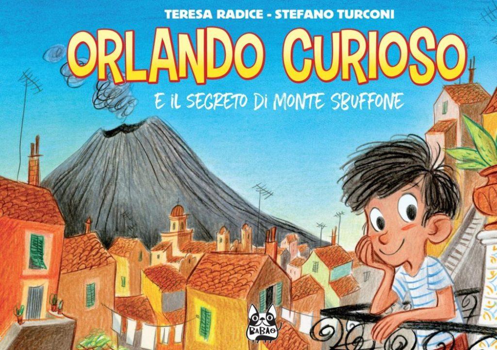 Orlando Curioso e il segreto di Monte Sbuffone, copertina di Stefano Turconi
