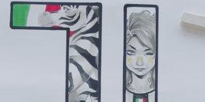 Mirka Andolfo reinterpreta il nuovo logo della Juventus in un video