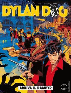 Dylan Dog 371, cover a di Gigi Cavenago