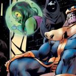 Marvel: Jim Starlin dice addio a Thanos con una trilogia di graphic novel
