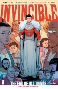 Invincible #144, copertina di Ryan Ottley