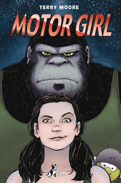 Motor Girl, copertina di Terry Moore