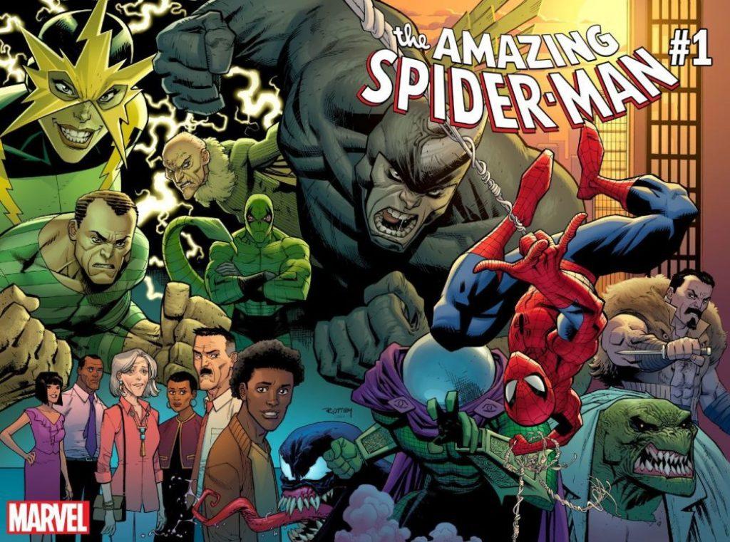 Amazing Spider-Man #1, copertina di Ryan Ottley